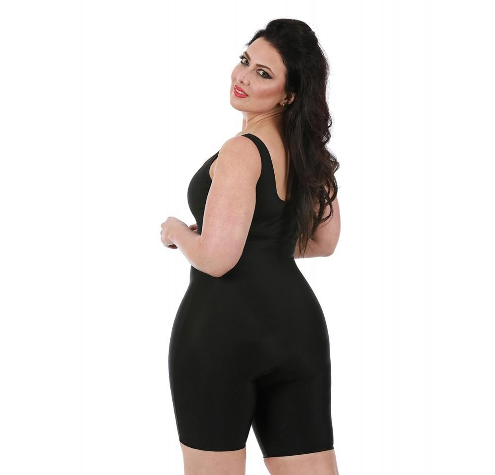 InstantFigure  Bodyshorts Plus Size High Waist Girdle - My Luxury Intimates