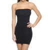 Seamless Strapless Full Body Slimming Black Slip - My Luxury Intimates