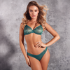 Sexy Sheer Molded Bra Gossard Glossies Emerald - My Luxury Intimates