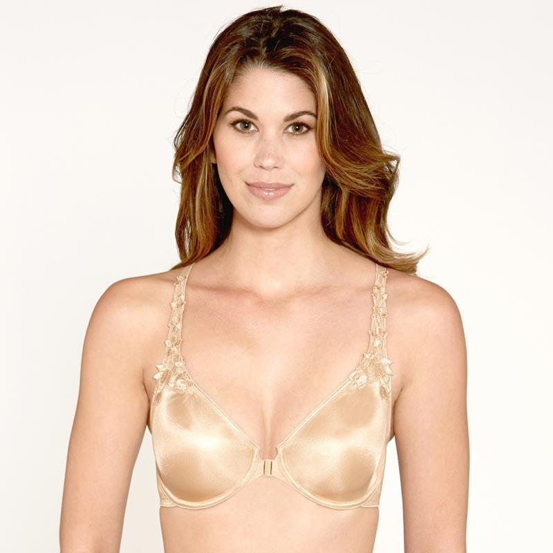 Everyday Front Closure Minimizer Bra Dominique Meryl Nude - My Luxury Intimates