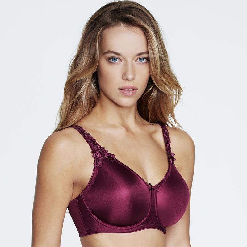 Seamless Minimizer Bra Dominique Mystique Purple - My Luxury Intimates