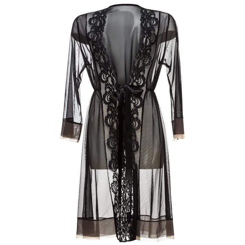 Sexy Sheer Lace Robe Lauma Love Story - My Luxury Intimates