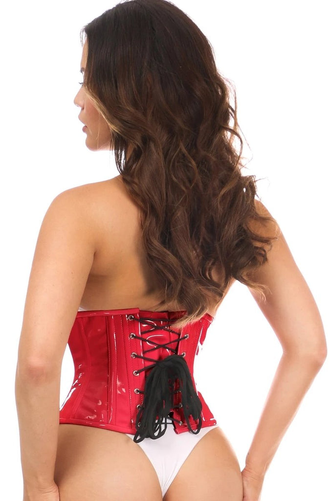 Top Drawer PVC Underbust Steel Boned Corsets - My Luxury Intimates