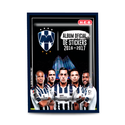 Image of Sobre de Stickers - Álbum Oficial Rayados 2017