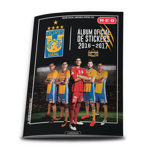 Image of Álbum Oficial Tigres 2017