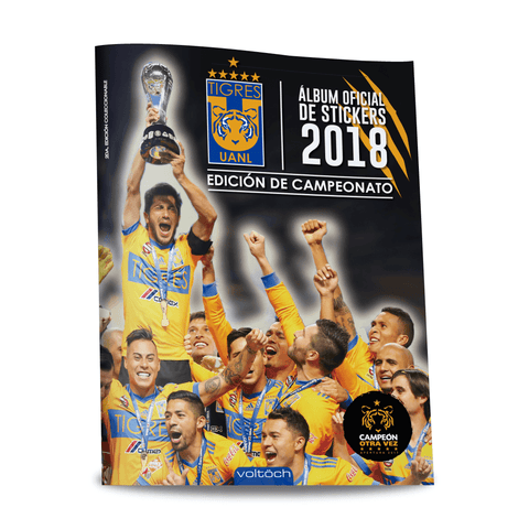 Image of Álbum Oficial Tigres 2018