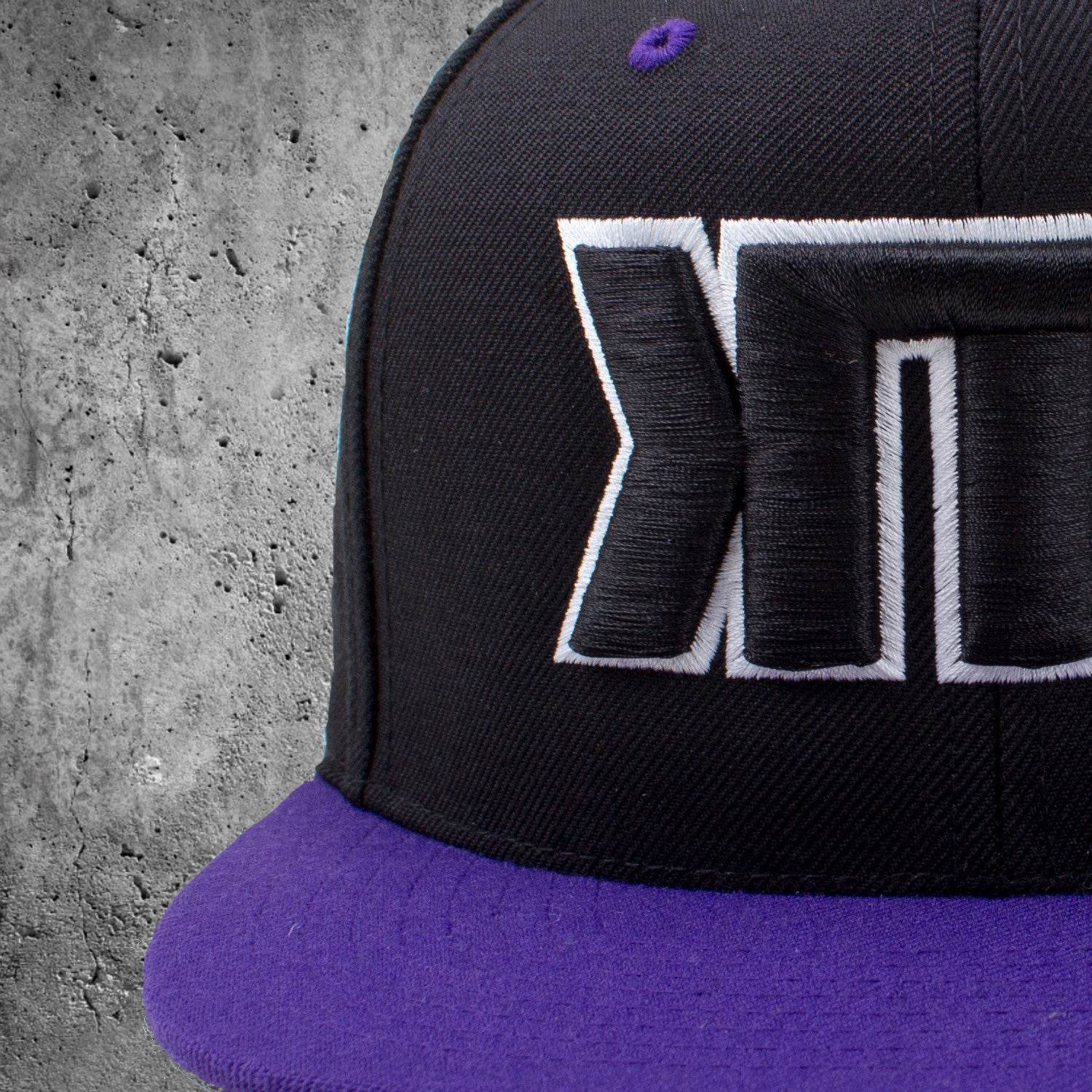 'KTN' Purple Snapback
