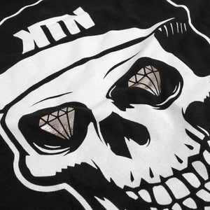'Skull - Foil Eyes' T-Shirt - Black