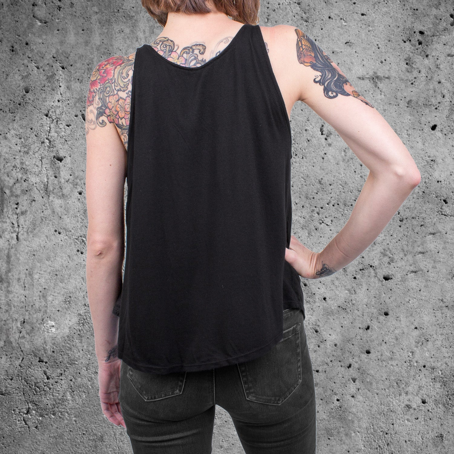 'Washed Out Skull' Women's Tank