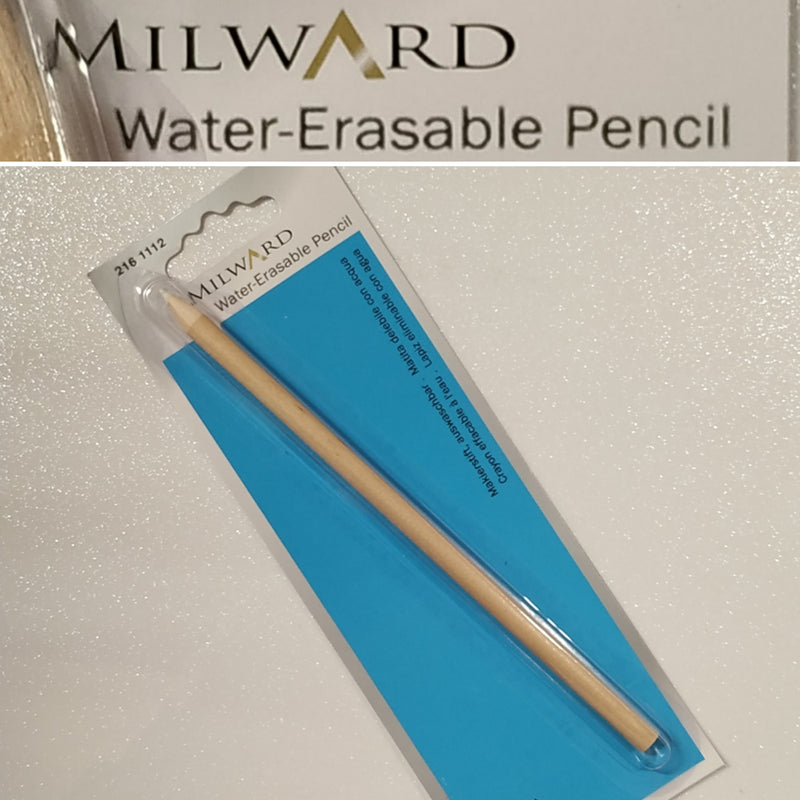 Water Erasable Pencil | Fabric Marking | White