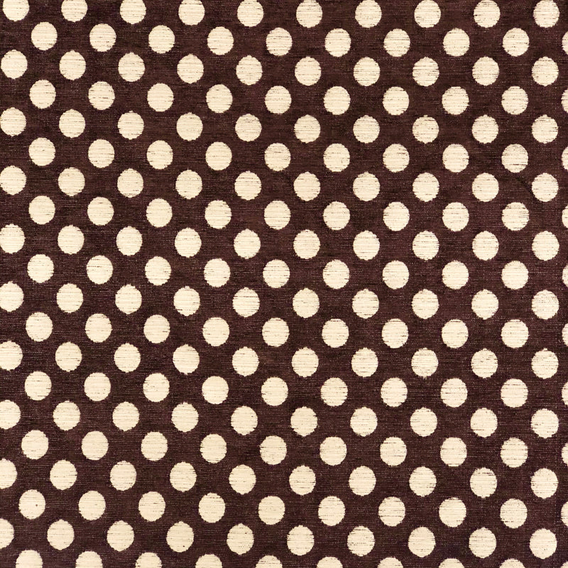 Double Sided, Furnishing & Upholstery Thick Cotton Fabric | Spots Print