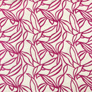 Double Sided, Furnishing & Upholstery Thick Cotton Fabric | Leafs Design