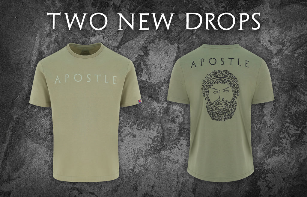 Two new military t shirts to add to your arsenal. Apostle is one of the leading UK veteran owned clothing brands.