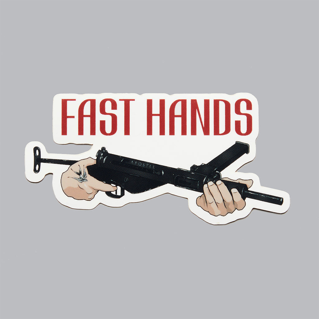Fast Hands Sticker