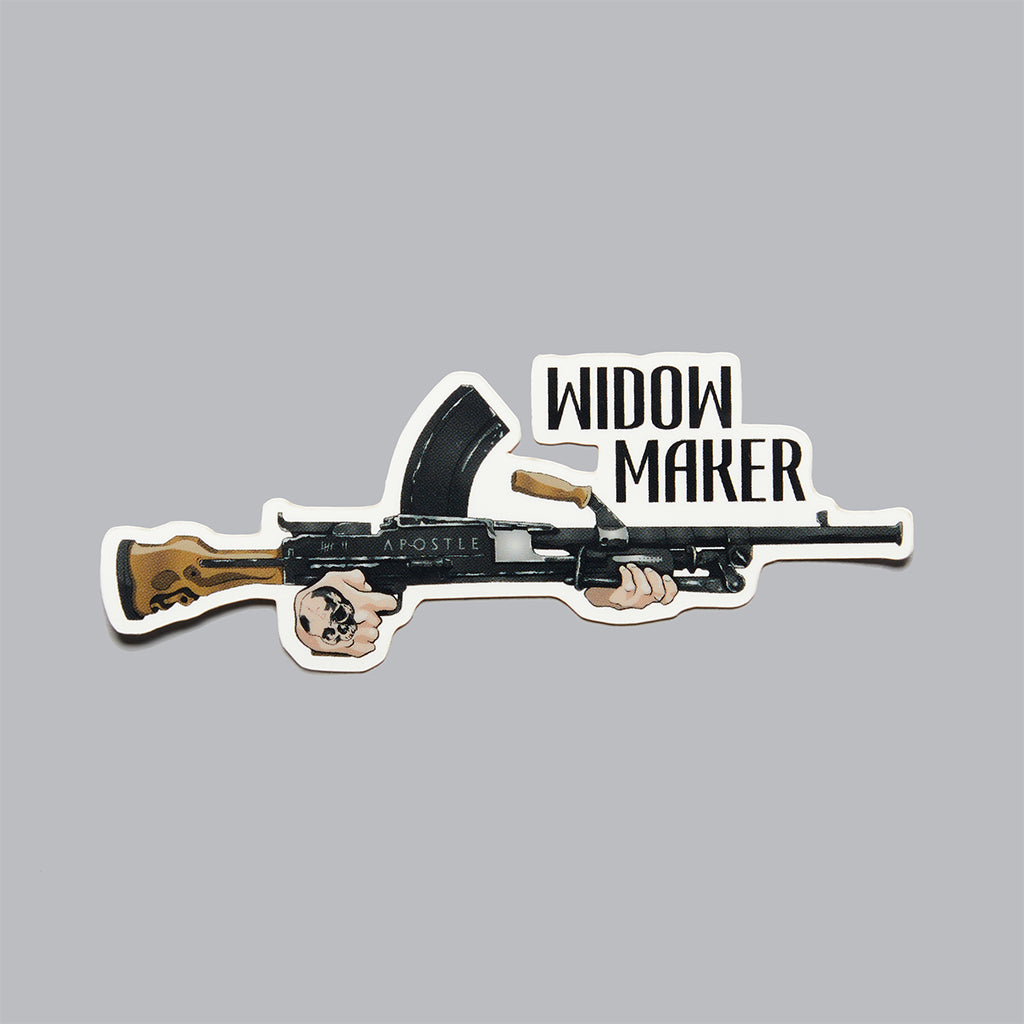 Widow Maker Sticker