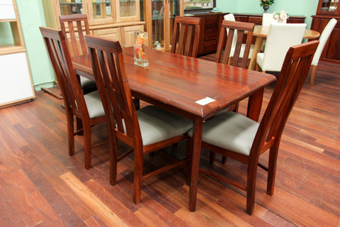 Arch Jarrah 1600 Dining Table