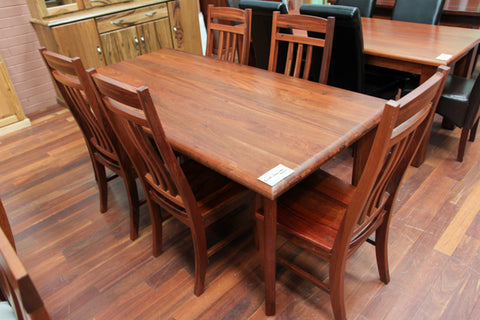 Arch Jarrah 1800 Dining Table