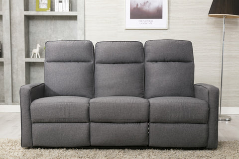 Brookton 3 Seater Recliner Sofa