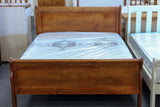 Crescent Queen Bed (Panel)