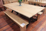 Edgewater Ash 2100 Dining Table