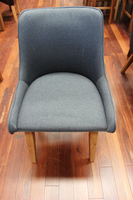 Fabric Arm Chair (Oak Leg)
