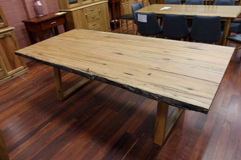 WA Marri Natural Edge Dining Table (WA Made)