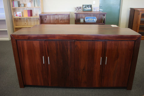 Jarrah Chunky 4 Door Buffet