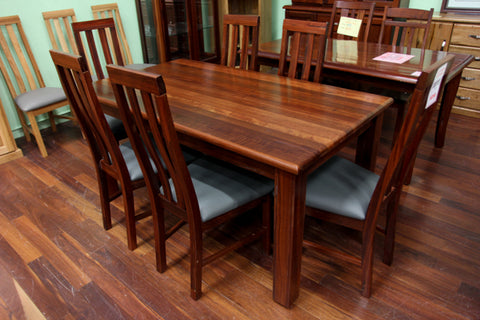 Donnelly Jarrah 1600 7 Piece Dining Suite