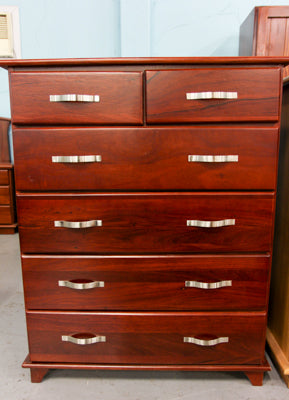 Sandra Jarrah Tall Chest