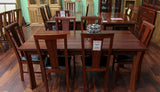 York Jarrah 1800 7 Piece Dining Suite
