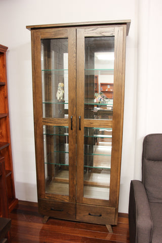Oakland 2 DR/2DRW Display Cabinet