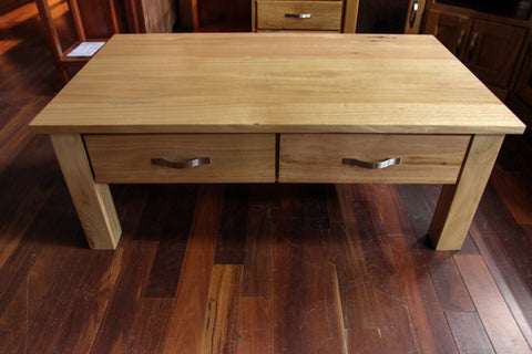 Chestnut 2 Drawer Coffee Table
