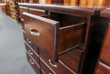 Rosewood 11 Drw Tall Chest