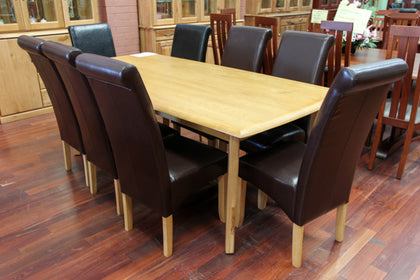 Santros Oak 2100 Dining Table