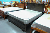 Vic Ash Ascot Queen Bed (Grey)