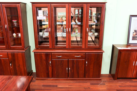 Santros Jarrah 4 Door Dresser (Mirror Back)