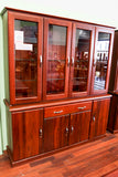 Santros Jarrah 4 Door Dresser (Timber Back)