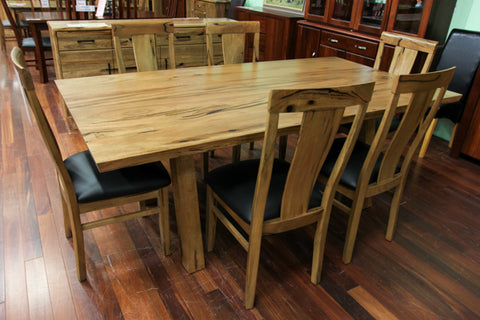 WA Marri Chunky Dining Table (WA Made)