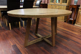WA Marri Oval 1.6M Dining Table (WA Made)