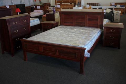 York Jarrah King Bed