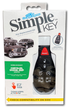 Load image into Gallery viewer, Chrysler, Dodge, Jeep and Volkswagen Simple Key Programmer for Smart Key Fob (CDFO-E7RHZ0SK-KIT)