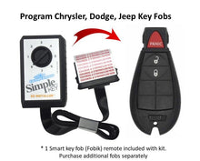 Load image into Gallery viewer, Chrysler, Dodge, Jeep and Volkswagen Simple Key Programmer for Smart Key Fob (CDFO-E3Z0SK-KIT)
