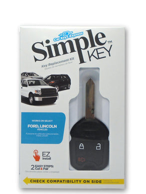 Simple Key Programming Kit - Ford & Lincoln Vehicles (FORRK3SK-KIT)