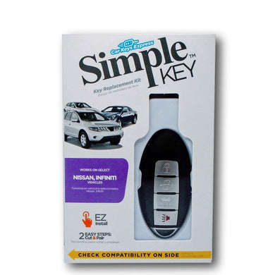Nissan & INFINITI Simple Key Programmer for Smart Key Fob (NISSK4SK-KIT)