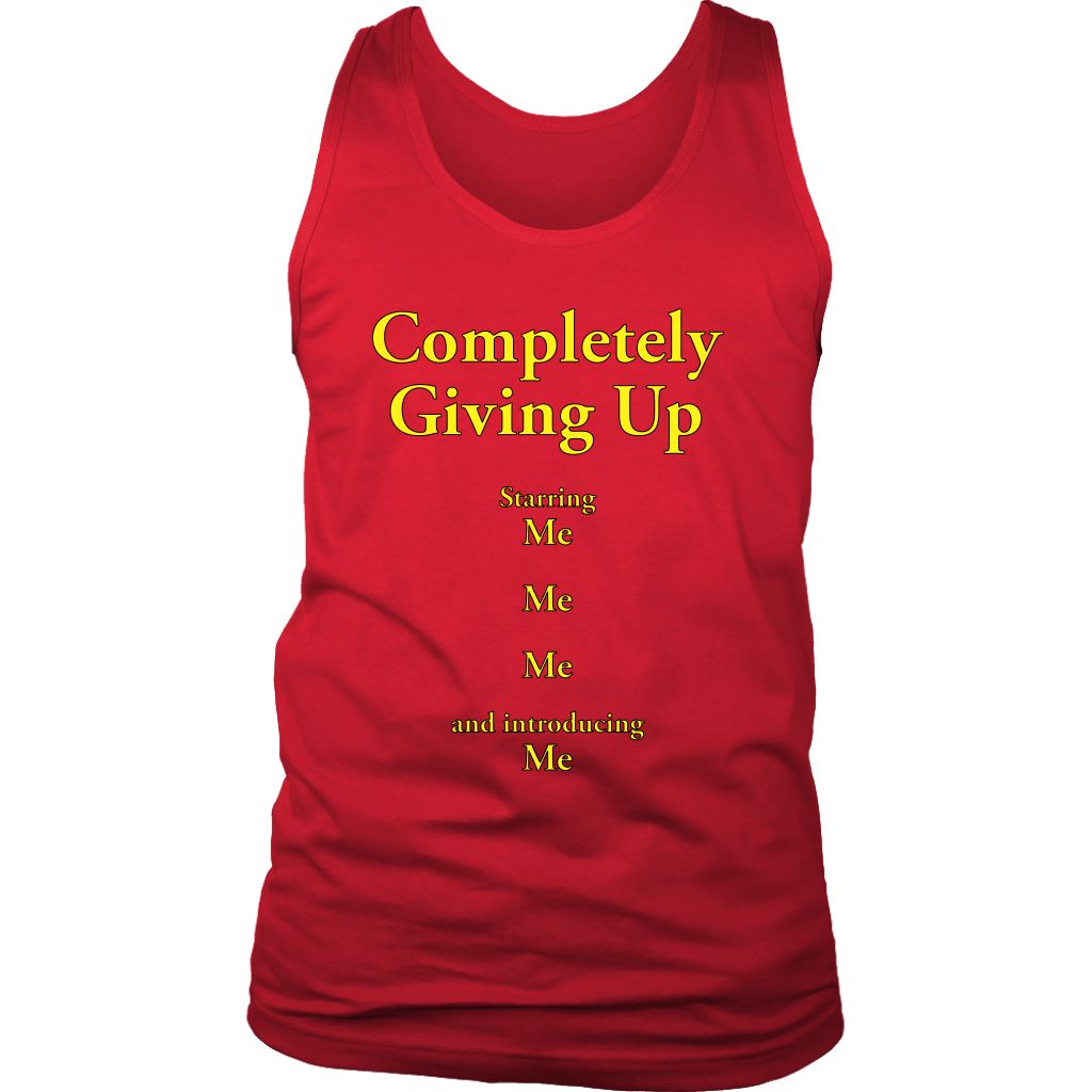 COMPLETELY GIVING UP | Mens Tank