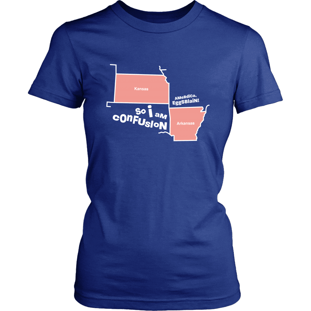 CONFUSION | Womens Tee - Meme-Based Apparel & Merch by Dank Swankitude - Shirts, Hats, Mugs, Pillows, & More