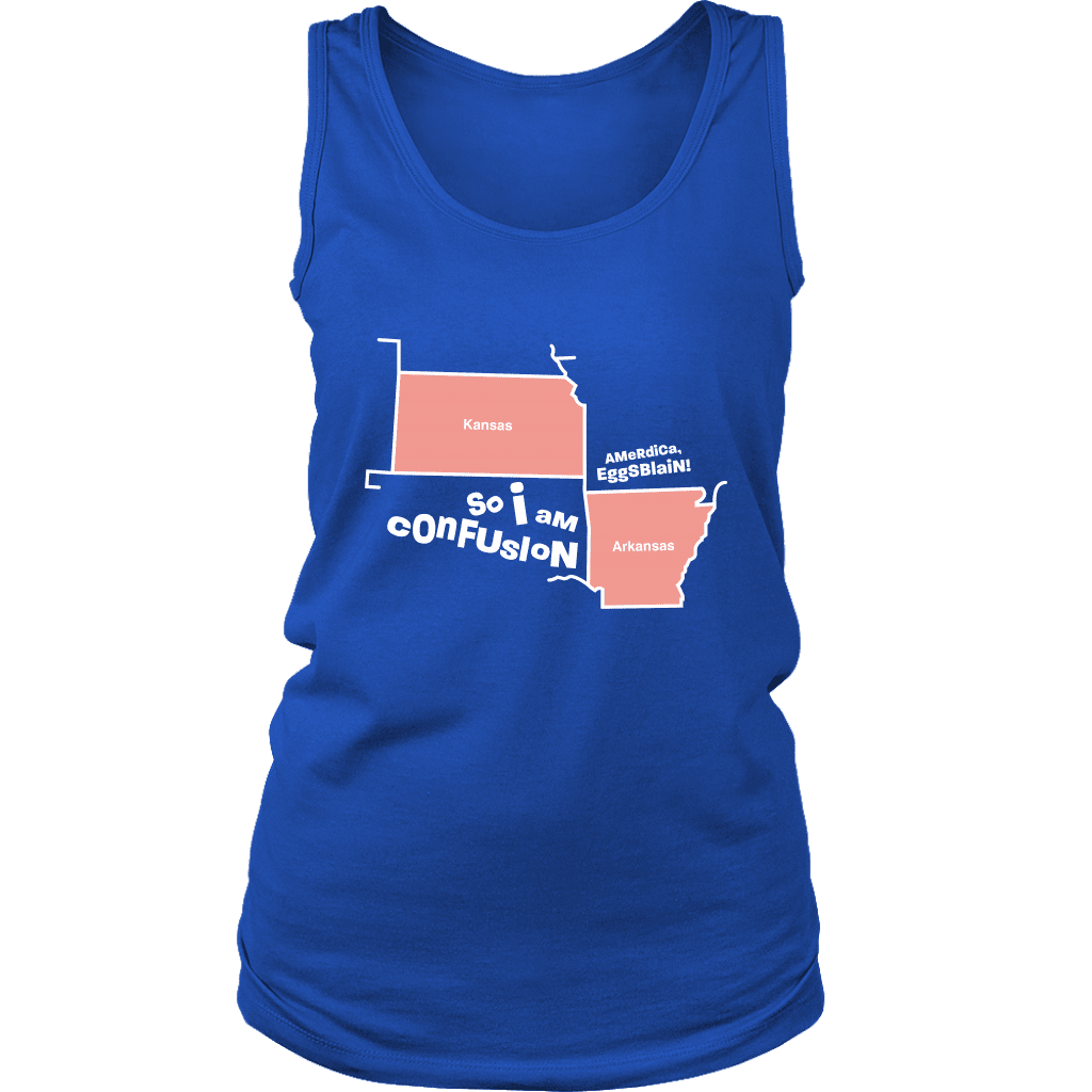 CONFUSION | Womens Tank - Meme-Based Apparel & Merch by Dank Swankitude - Shirts, Hats, Mugs, Pillows, & More