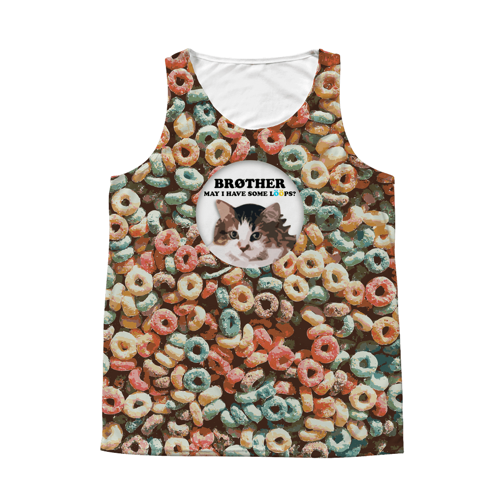 LÖÖPS | All-Over Tank - Meme-Based Apparel & Merch by Dank Swankitude - Shirts, Hats, Mugs, Pillows, & More