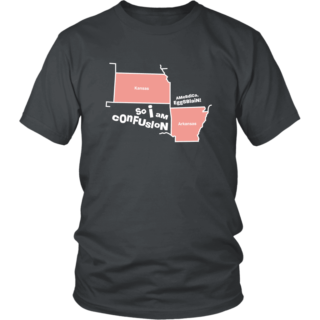 CONFUSION | Unisex Tee - i am confusion the sadia arabia kansas arkansas dank meme memes funny reddit instagram tiktok vine youtube shirt royal blue