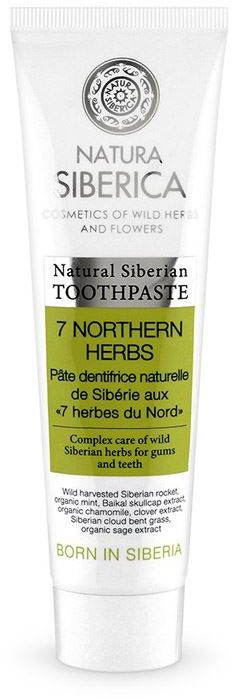 TOOTH PASTE SEVEN HERBS ECO 100 g - NATURA SIBERICA